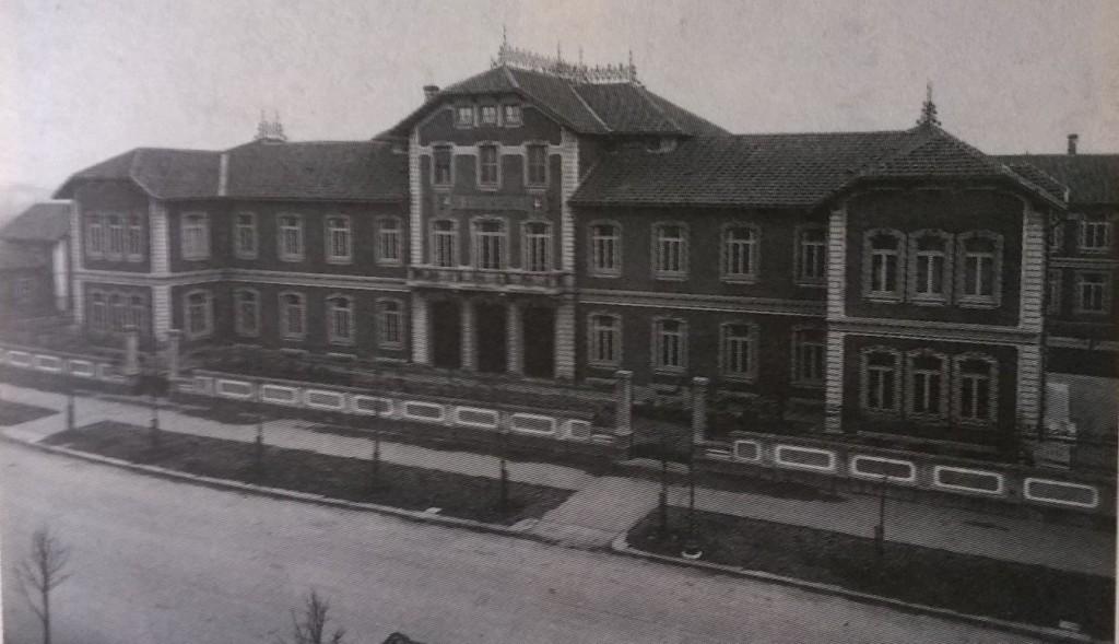 Milano edificio principale 1920-1925