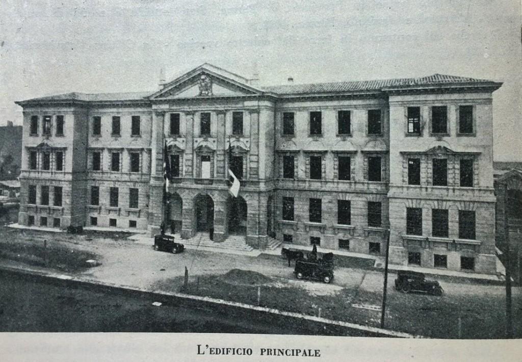 Perugia edificio principale 1920 -1925