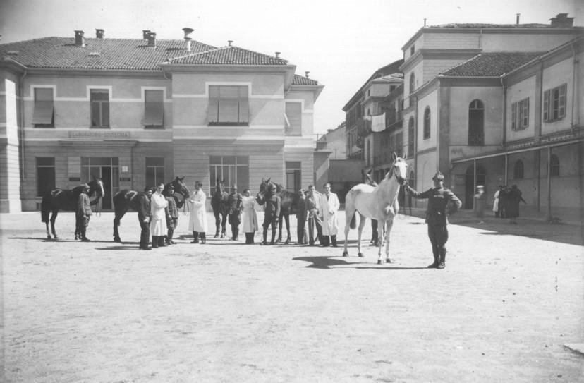 Torino cortile interno 1935-1940