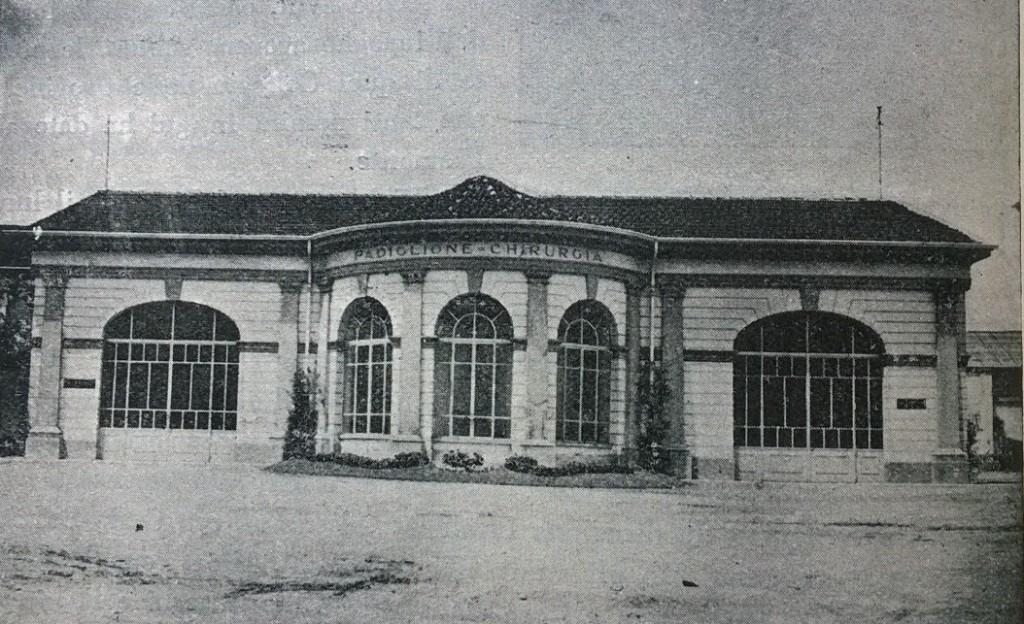 Torino l'esedra del cortile interno
